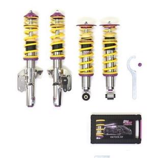 KW V3 Coilovers for VW Caddy