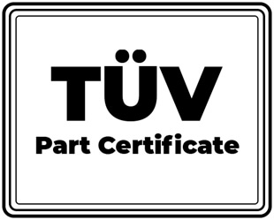TÜV Part certificate